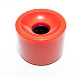 Longboard wheels 70 x 51mm 80A SSHR PU rood_