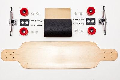 """Longboard compleet 40"""" x 9.25"""""""
