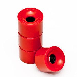 Longboard wheels 70 x 51mm 80A SSHR PU rood