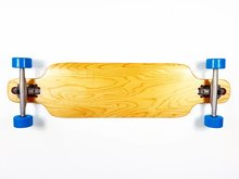 Longboard-dropthrough-Canadian-maple-compl.-bleu